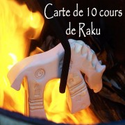 Carte de 10 cours de Raku en Bretagne à Névez