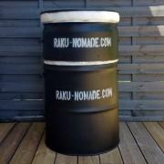 Four Raku Gaz avec rehausse 150 litres, Kit complet