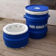 Four Raku Gaz avec rehausse 85 litres, Kit complet