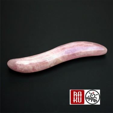 Outil de polissage tige de quartz rose